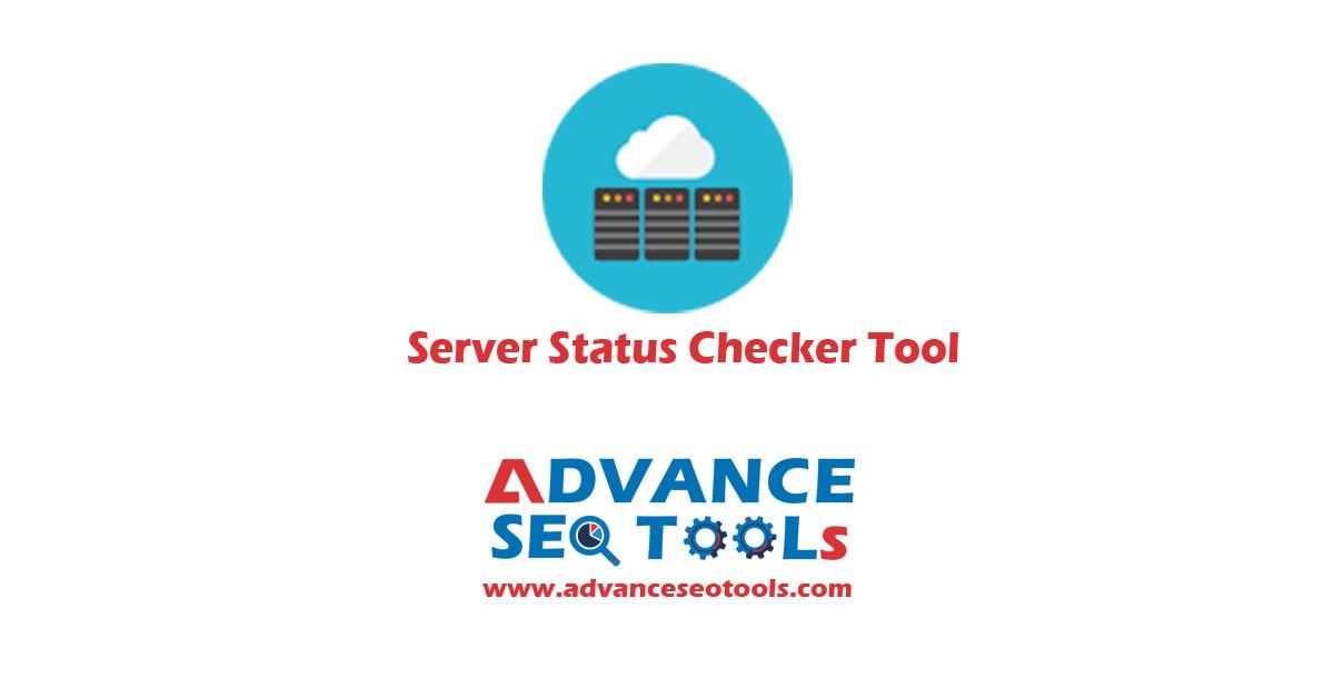 Server status checker tool
