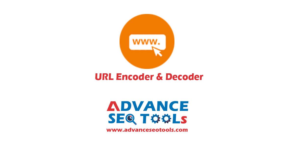 URL encoder and decoder